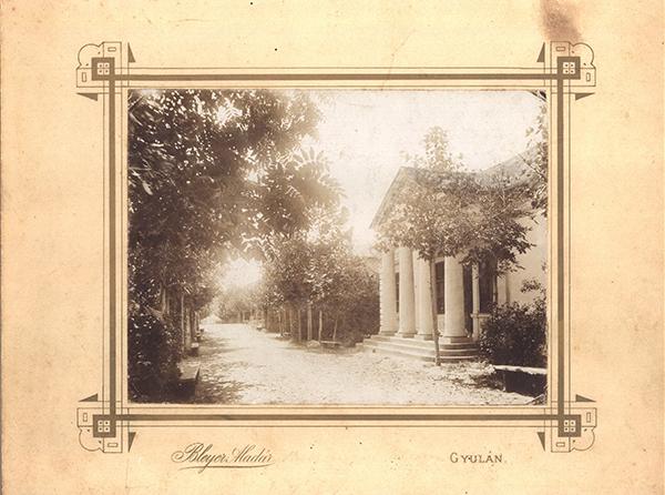 Békés megyei első múzeumépülete 1896-ban, ma Kohán Képtár