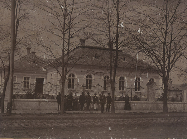 Az egykori Park Szálló épületében  működött a múzeum 1951-1966-ig