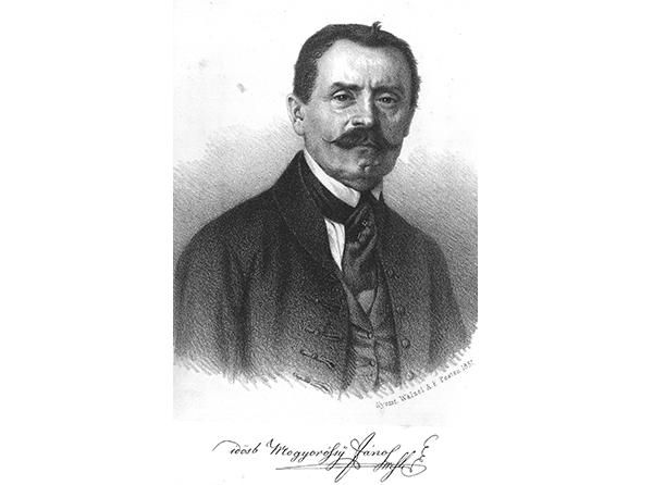 Mogyoróssy János - múzeumunk alapítója