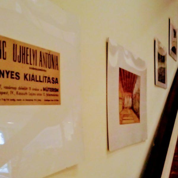 Különleges helyszín, különleges tárlat – Lajos Ferenc – kiállítás a Művház lépcsőházában