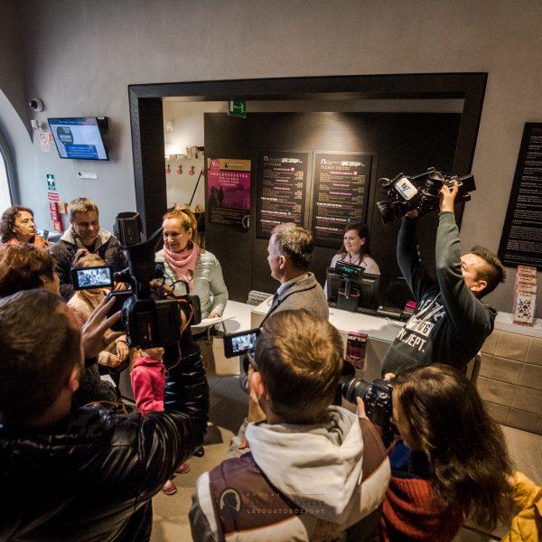 A 300 ezredik látogatót köszöntötték a gyulai Almásy-kastélyban