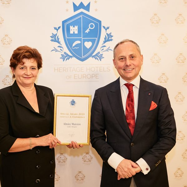Taroltak a magyarok a Heritage Hotels of Europe díjátadó gáláján