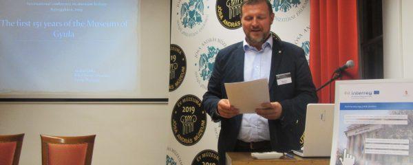 Nemzetközi konferencián mutatkozott be a gyulai közgyűjtemény