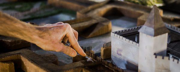 Hazánkban egyedülálló a Gyulai Vár fegyvertermében megvalósult dioráma
