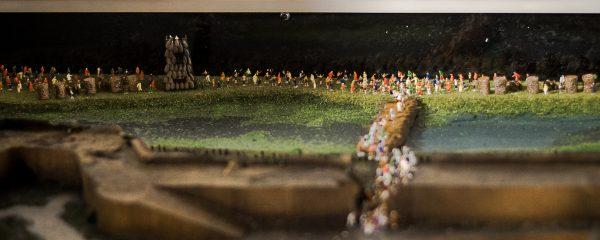 Tovább bővült a gyulai vár fegyvertermében található dioráma
