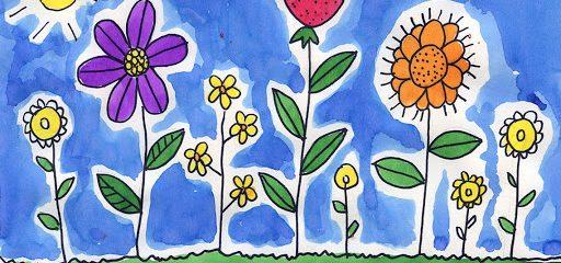 A képzelet virágai című rajzpályázat díjazottjai