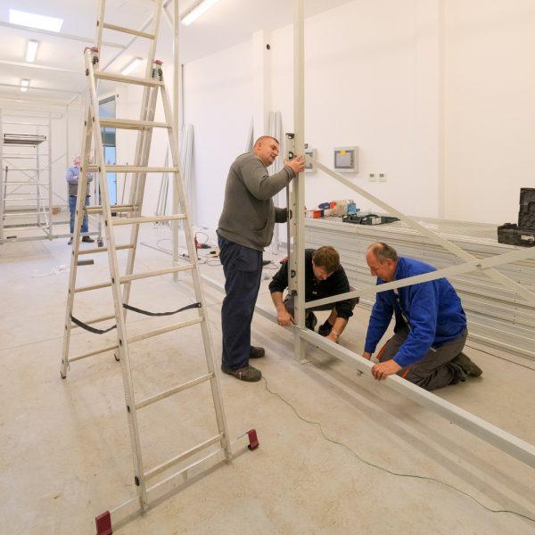 Mozgatható képtároló rendszer védi a festményeket