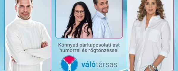 VálóTársas – párkapcsolat-gazdagító est humorral és rögtönzéssel